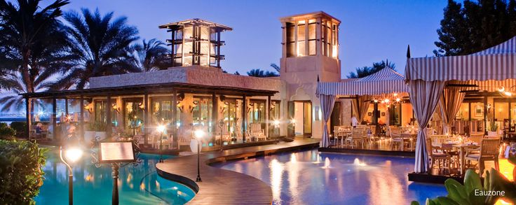ONE & ONLY ROYAL MIRAGE, DUBAI https://www.oneandonlyresorts.com/one-and-only-royal-mirage-dubai/cuisine/eauzone LUXURY HOSPITALITY