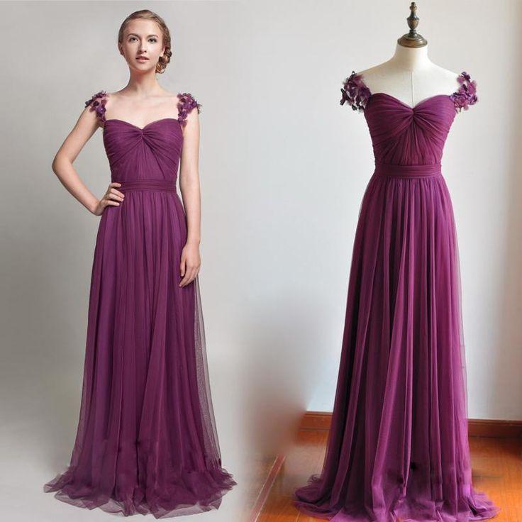 Magnífico Vestidos De Dama De Color Púrpura Y Rosa Ideas - Ideas de ...