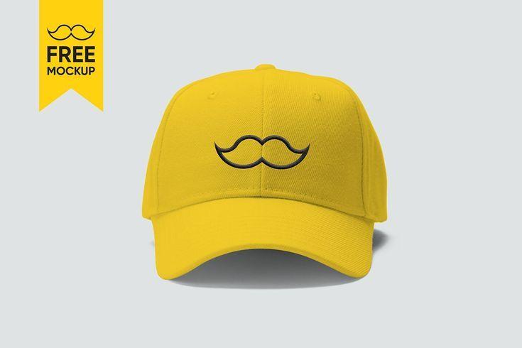 Free Cap Mockup Psd Yellow Baseball Cap Free Mockup For Your Branding And Graphic Design Projects Branding S Mockup Free Psd Graphic Design Mockup Free Mockup