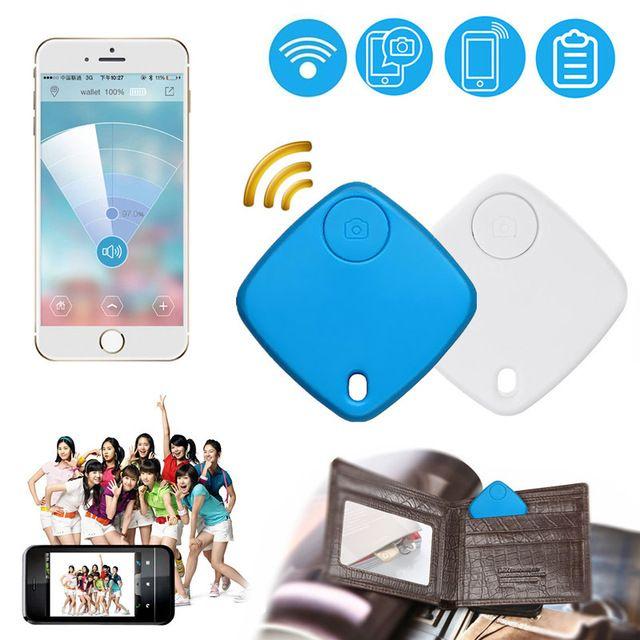 5€ Inteligente Bluetooth Buscador Dominante de Alarma temporizador Mini Localizador de Alarma anti-perdida para el Bolso Monedero Billetera Niño Mascota equipaje GPS tracker