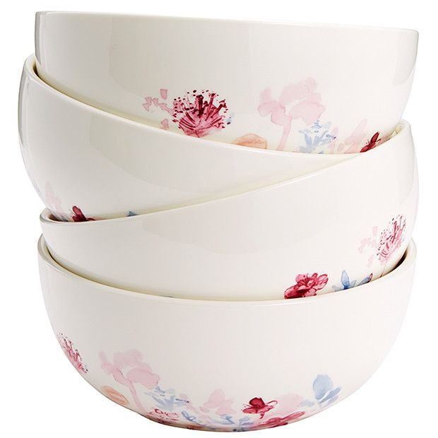 Meadow Set of 4 Pasta Bowls | Target Australia