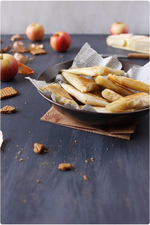 Samossas de pommes et reblochon