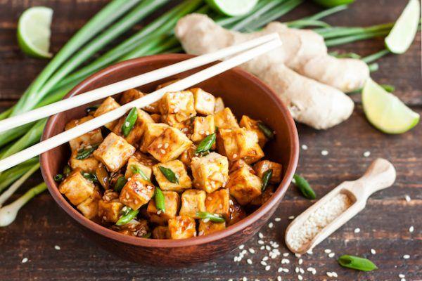 marinerad tofu recept