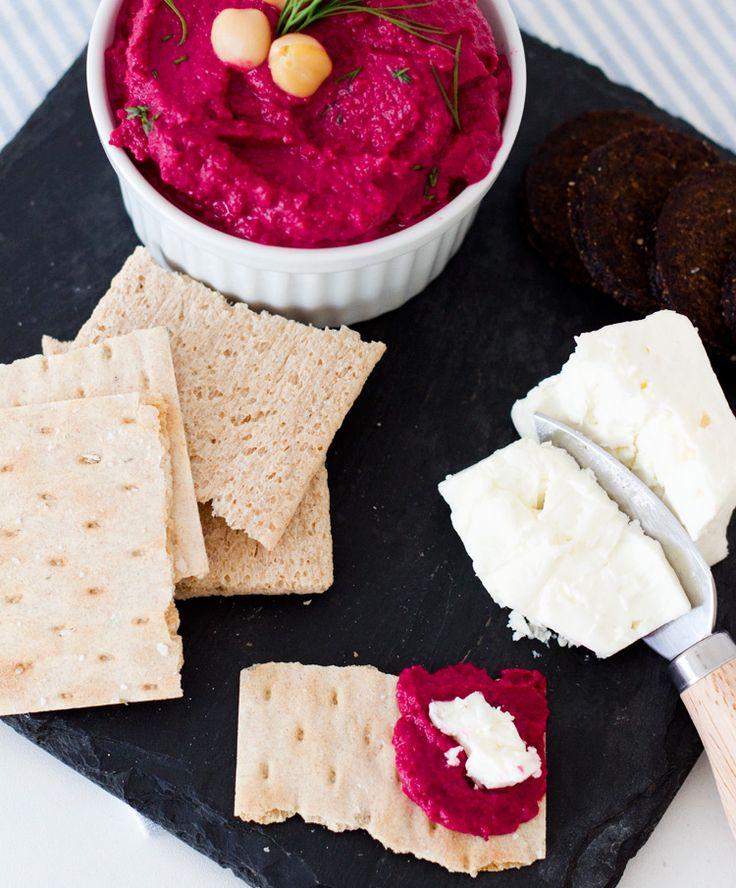 Beet Hummus Recipe | Not Your Standard