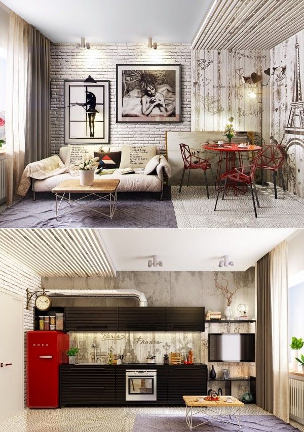 Relaxing Living Rooms with Gorgeous, Modern Sofa (1)
