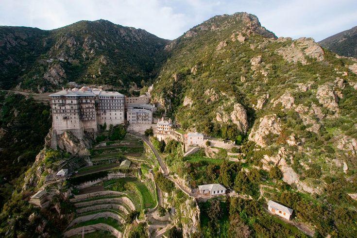 Ιερά Μ. Σιμωνόπετρας...Holy Simonopetra Mount Athos
