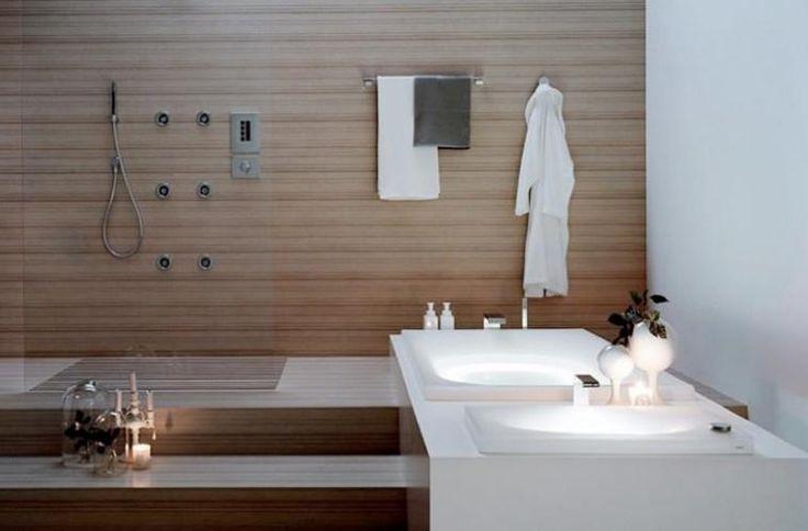 54 best images about salle de bain on pinterest toilets for Baignoire douche design