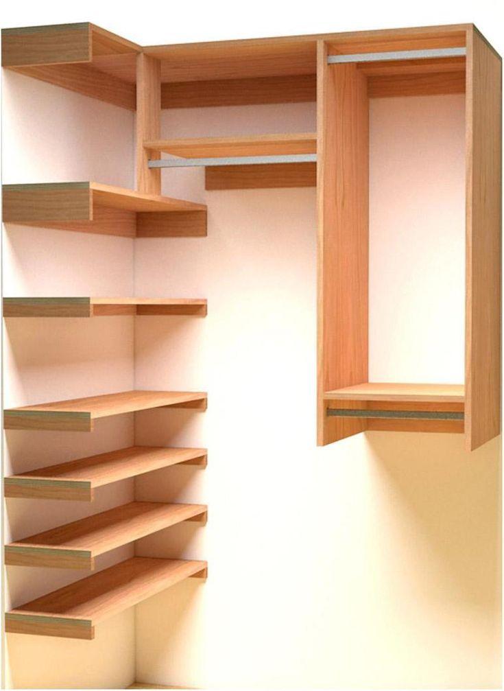 How To Build A Closet Organizer Cheap Closet Wood