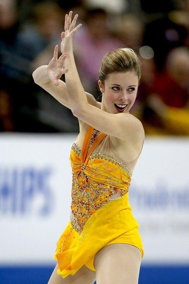 Ashley Wagner -- women's free skate Sochi 2014