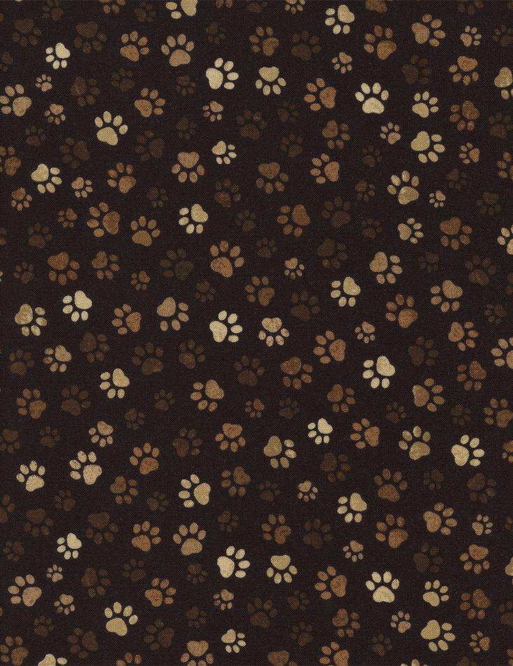 30 best fabric favorites images on pinterest cat fabric - Dog print wallpaper ...