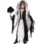Scary Corpse Bride Child Halloween Fancy Dress Costume