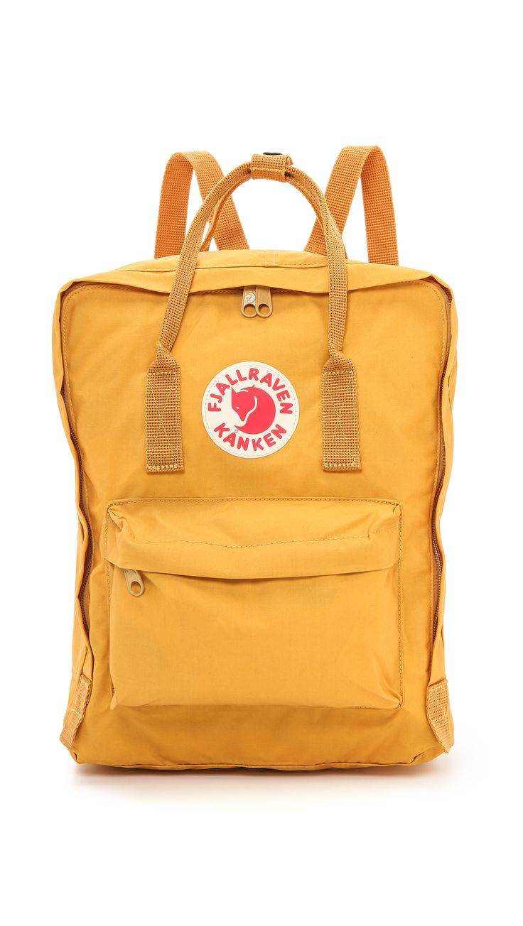 Fjallraven Kanken Backpack - Ochre | SHOPBOP.COM | วิ พัชร์ on ShoppingIS | Make…