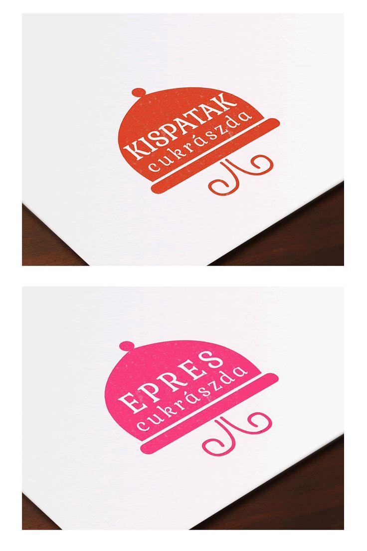 Logo design for two cake shops.