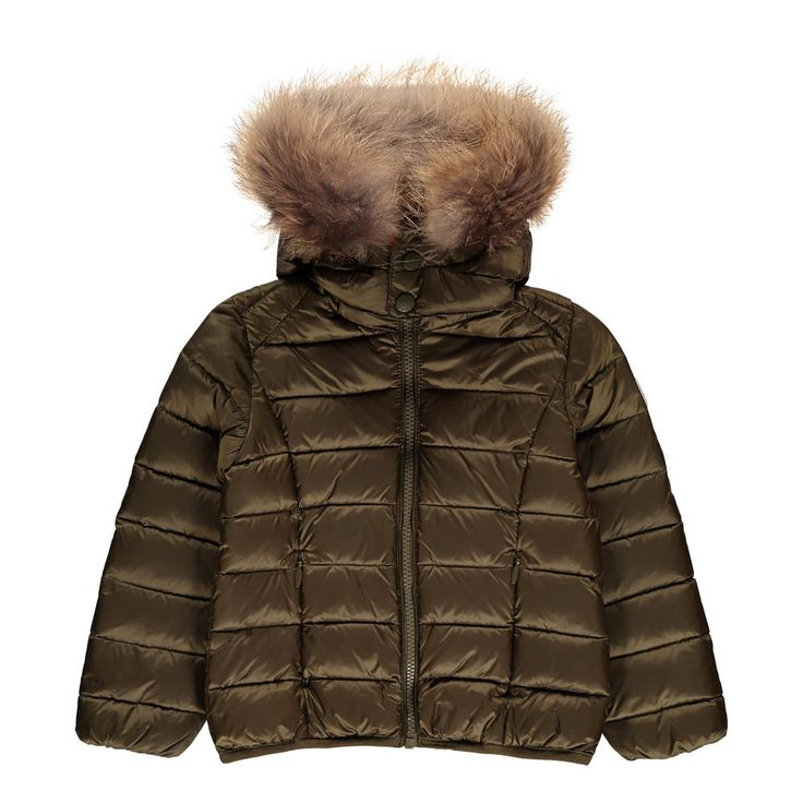 Doudoune Capuche Fourrure Gold Grand Froid - Jott