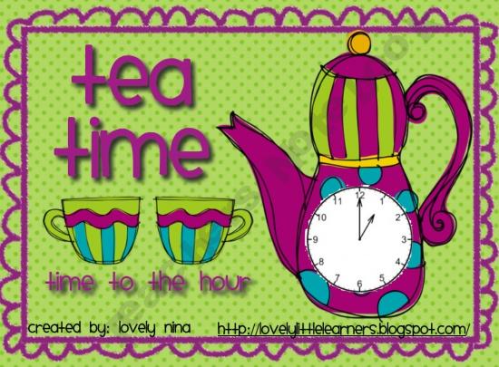 Tea Time fun