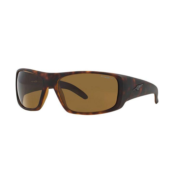 Arnette La Pistola AN4179 66mm Rectangle Polarized Sunglasses, Men's, White Oth