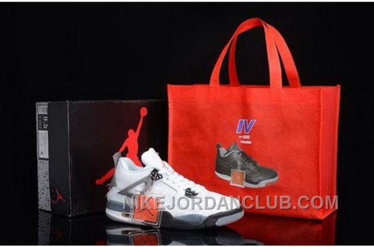 http://www.nikejordanclub.com/buy-sale-nike-air-jordan-4-iv-mens-shoes-on-sale-white-grey.html BUY SALE NIKE AIR JORDAN 4 IV MENS SHOES ON SALE WHITE GREY Only $87.00 , Free Shipping!
