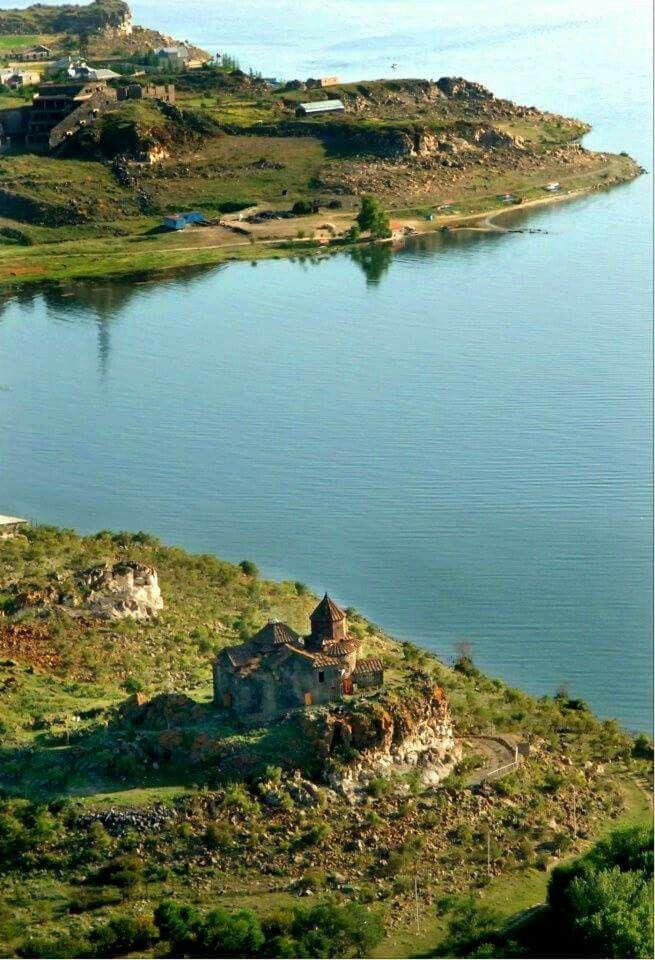 Lac Sevan, Arménie.