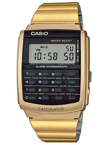 29ada81e41d Relógio Casio Masculino Vintage Calculadora CA-506G-9ADF