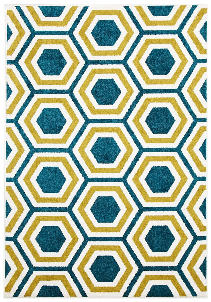 Honeycomb Indoor Outdoor Rug by Network Rugs. Get it now or find more All Rugs at Temple & Webster.