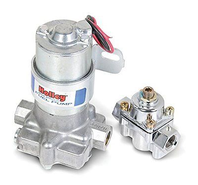 Holley L:12-802-1 Electric Fuel Pump with Regulator - 110 GPH