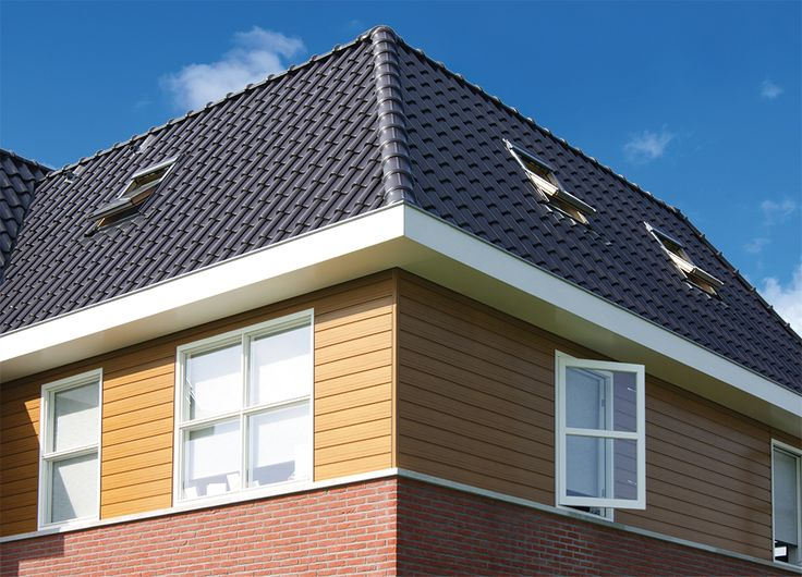 Keralit sponingdelen worden het meest toegepast in de Nederlande woningbouw. Bij dit project is gebruikt gemaakt van sponningdelen. Deze zijn verkrijgbaar in maar liefst 35 kleuren en houtstructuren. http://www.keralit.nl/gevelbekleding/