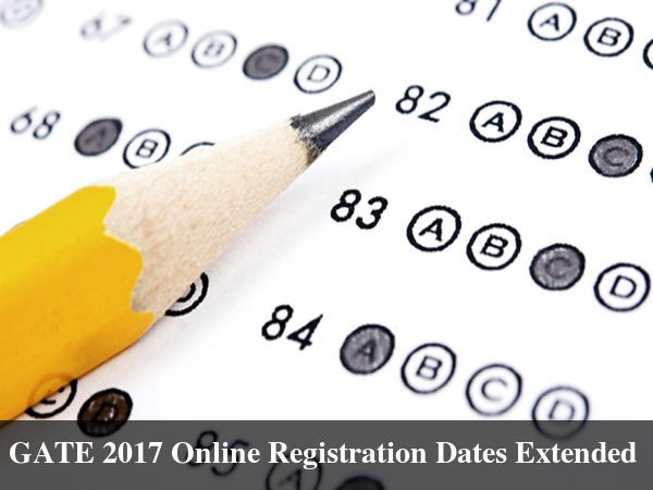 #GATE 2017 Online Registration Dates Extended   GATE Examination GATE 2016   Read more from #Careerbilla <> http://www.careerbilla.com/news/news-details/gate-2017-online-registration-dates-extended