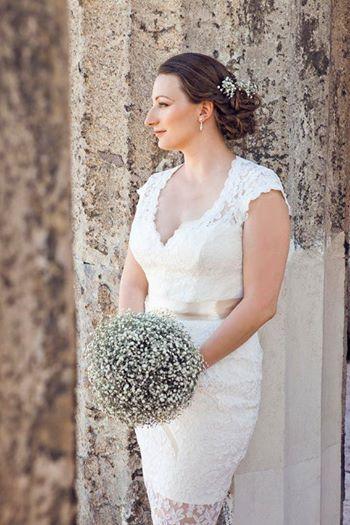 Nora Sarman wedding dress https://www.facebook.com/sarmannora