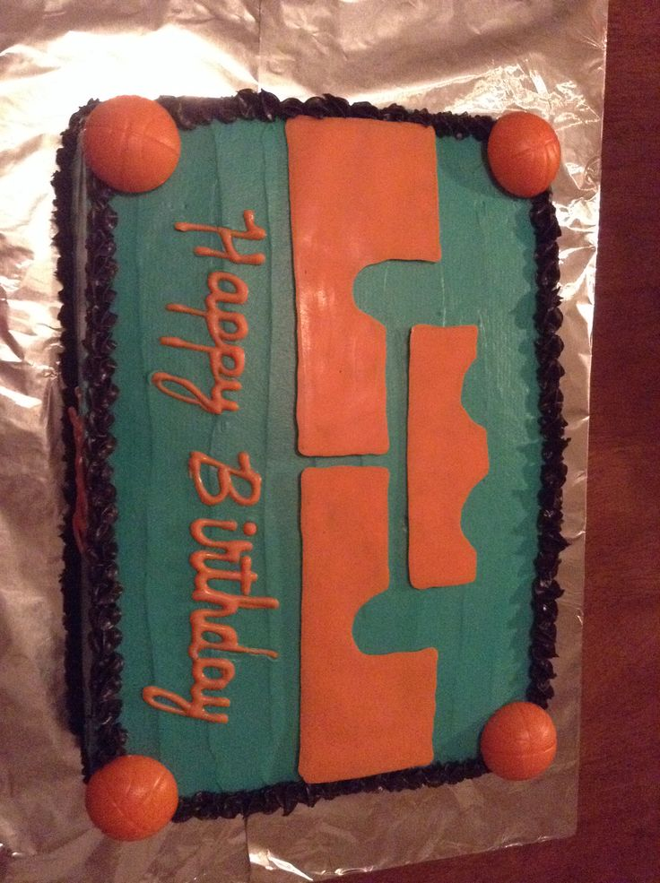 My mom literately pulled off a Lebron James cake.
