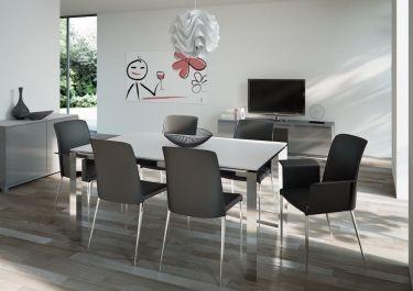 #tavolo blaze con #sedie dream #design #madeinitaly a casa tua