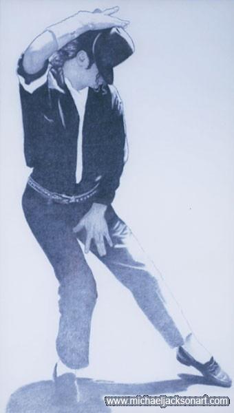 MJ Dancin' by David Nordahl
