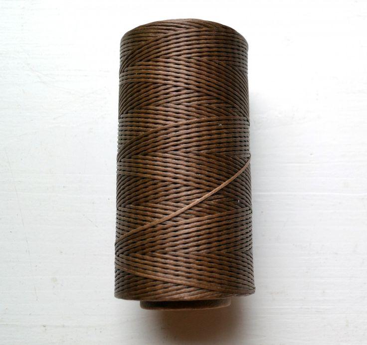 Нить плетеная вощеная 260m 1mm