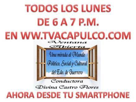 TvAcapulco - Televisión Ciudadana y Noticias desde la Ciudad y Puerto de Acapulco, Guerrero.Tv Acapulco Noticias | Televisión Ciudadana desde la Ciudad y Puerto de Acapulco, Guerrero para el Mundo.