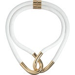 Balenciaga Twin-Linked Leather & Metal Necklace (Barneys)....Just checked it out...$745...no wonder I like it!