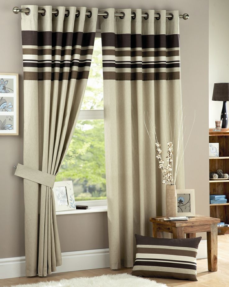 Fresh Tesco direct Curtina Harvard Chocolate Eyelet Lined Curtains inches Photos - Minimalist curtains direct Idea