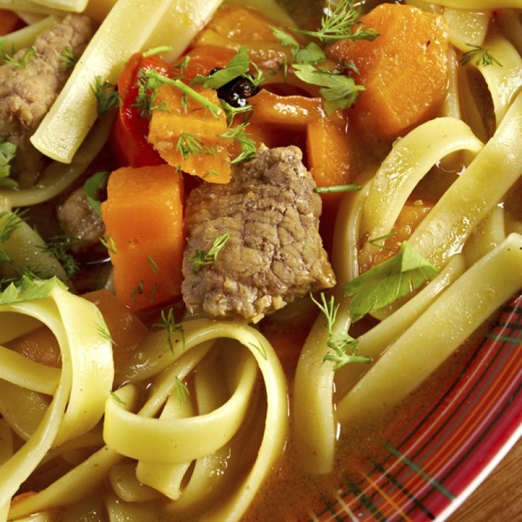 Here is a hearty beef and noodle soup made with very simple ingredients.. Beef and Noodle Soup Recipe from Grandmothers Kitchen.