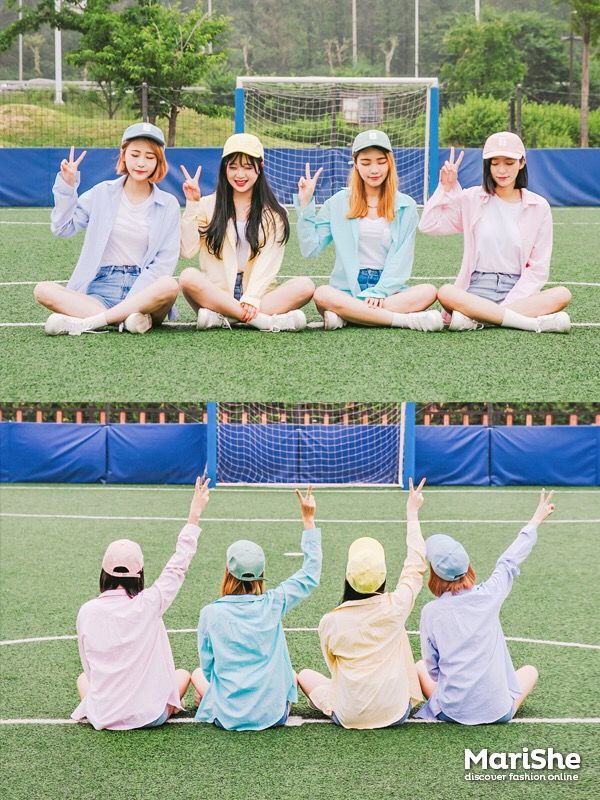 Korean style fashion #MariShe