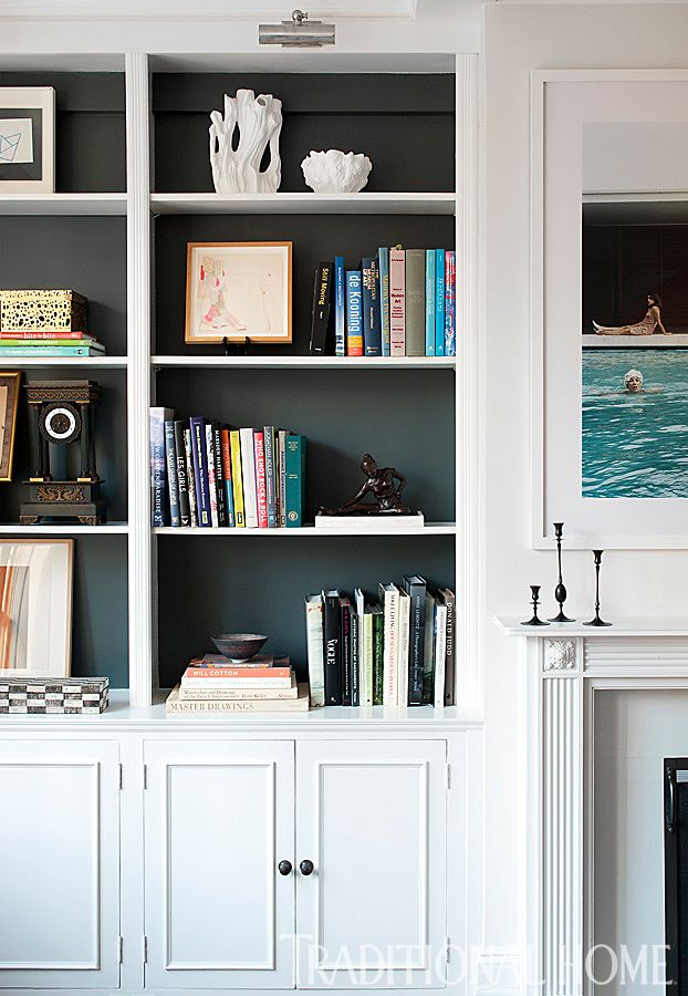 One Gallon Challenge: Top 10 Things You Can Do with Just One Can of Paint - Best 25+ Painted Bookshelves Ideas Only On Pinterest Girls