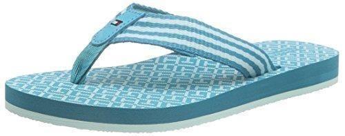Oferta: 29.9€. Comprar Ofertas de Tommy HilfigerM1285ONICA 34D - Zapatos de playa y piscina  Mujer , color Azul, talla 39 UE barato. ¡Mira las ofertas!