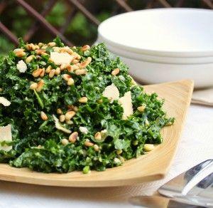Kale and Pecorino salad