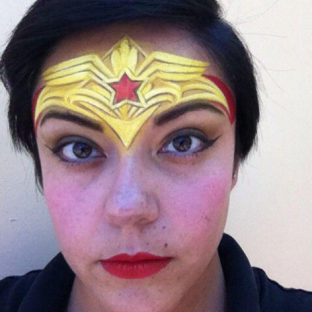Wonder woman facial