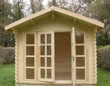 Brighton garden shed traditional sheds chicago for Traditional garden buildings