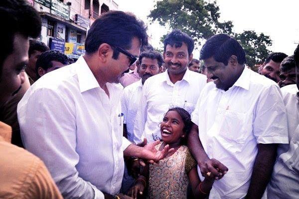 AISMK Party President Mr. Sarath Kumar's Constituency visit