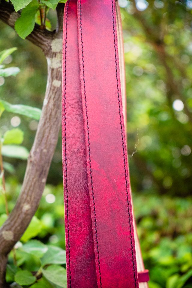 Kamerahalfter Pro in Blutrot