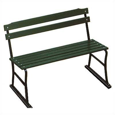 Algoma Traditional Wood and Metal Garden Bench | Wayfair Kitchen bench?