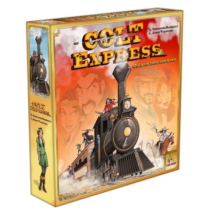 Colt Express Spiel des Jahres 2015