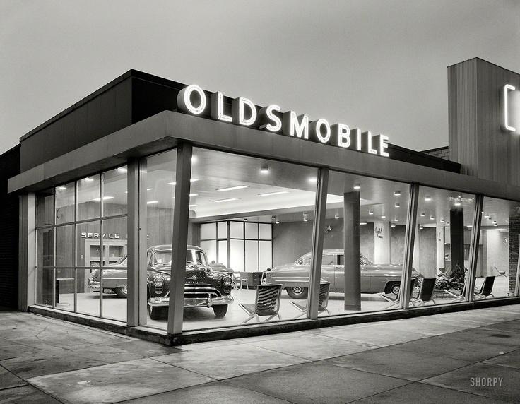 1950 Crystal Motors Oldsmobile 5901 Bay Parkway