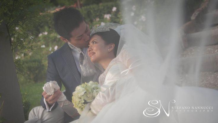 Romantic couple under the veil #weddingveil #weddingphotographer #weddinginflorence