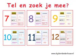Powerpoint Downloads - tel en zoek je mee 7 - 12