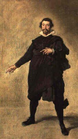 Portrait of Pabillos de Valladolid, Buffon de Philippe IV by Édouard Manet
